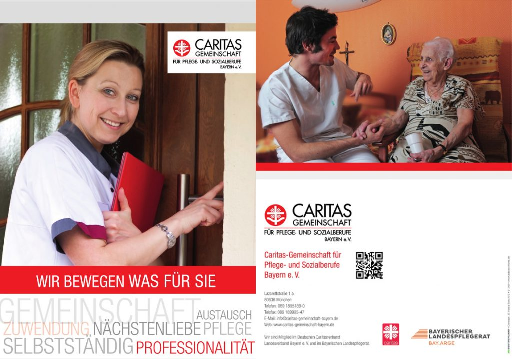 Broschüre Caritasgemeinschaft Bayern e.V.
